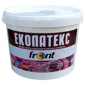 Краска водоэмульсионная Эколатекс Фронт 12 кг