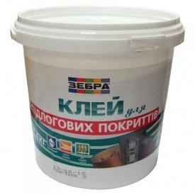 Клей для напольных покрытий Зебра 1,4 кг