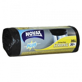 Пакеты для мусора Novax Plus 35 л 30 шт