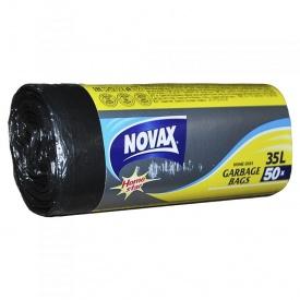 Пакеты для мусора Novax 35 л 50 шт