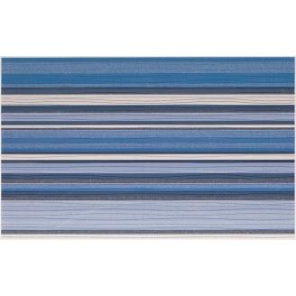 Плитка декоративна Paradyz Acapulco Blue Inserto Paski 250х400х8,1 мм