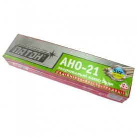Электроды для сварки углеродистых сталей АНО-21 Ф 3 5 кг