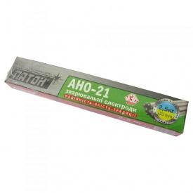 Электроды для сварки углеродистых сталей АНО-21 Ф 3 2,5 кг