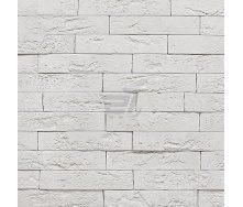 Плитка гипсовая декоративная Rustika Оксфорд белый 250x50 мм
