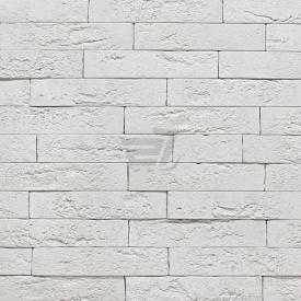 Плитка декоративна гіпсова Rustika Оксфорд білий 250x50 мм