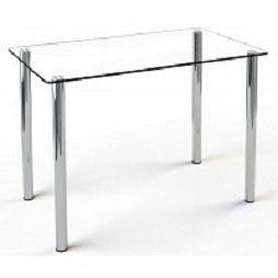 Стол стеклянный Кристалл Sentenzo 900х650х750 мм прозрачный