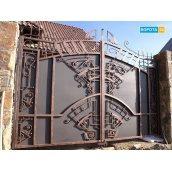 Ковані відкатні ворота 3000х2000 мм