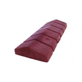 Парапет сухонабивний вузький 480х200х70 мм червоний