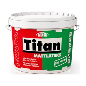 Акрилова фарба Mixon Титан Матлатекс 2,5 л білий