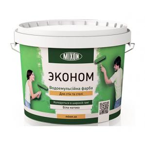 Водоемульсійна фарба Mixon Економ 10 л білий