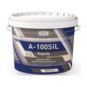 Штукатурка Mixon A-100Sil силіконова короїд 16 кг