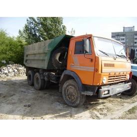 Аренда самосвала КАМАЗ для вывоза строительного мусора
