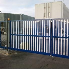 Розпашні ворота Alutech Comfort екструдований алюмінієвий профіль