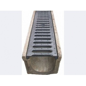 Ливнеприемная решетка 20х126х485 мм (9.04.1)