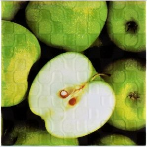 Плитка декоративная АТЕМ Orly Apple W 200x200 мм