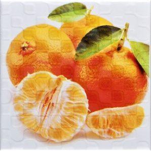 Плитка декоративна АТЕМ Orly Orange 2 W 200x200 мм
