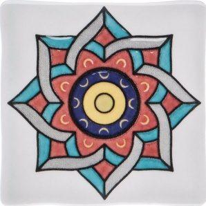 Плитка декоративна АТЕМ Bonny Rosette 1 GR 108х108 мм