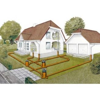 Проектирование канализационной системы