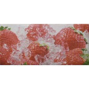 Плитка декоративна АТЕМ Sandra Strawberry 76х152 мм