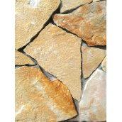 Песчаник кучерявый 1-3 см желто-белый