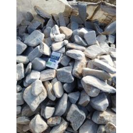 Галька Тремолит 40-120 см белая
