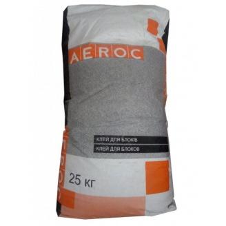 Клеевая смесь AEROC для газобетона 25 кг