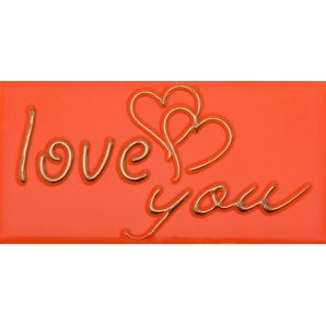 Плитка декоративна АТЕМ Sandra 1 Love OR 76х152 мм