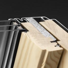 Двухкамерное окно Велюкс GLL 1061B MK06 с системой Thermo Technology 78x118 см