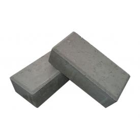 Тротуарная плитка ЕКО Кирпичик 200х100х25 мм белый