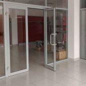 Двери из алюминиевого профиля НОВЫЙ ПРОЕКТ ГРУПП 2050x900 мм