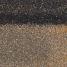 Коньково-карнизная черепица Shinglas 250х1000 мм клондайк