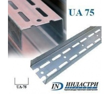 Профиль ПК Индастри UA 75 40x73х1,5 мм