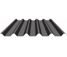 Профнастил Индастри ПК 44 цинк 1100 мм 0,4 мм RAL 9006
