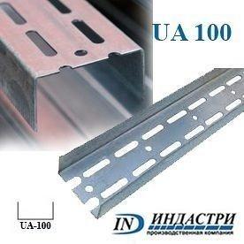 Профиль ПК Индастри UA 100 40x98x1,5 мм