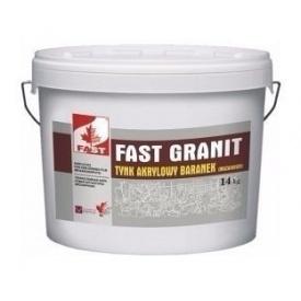 Мозаичная гранитная штукатурка FAST GRANIT Премиум 14 кг