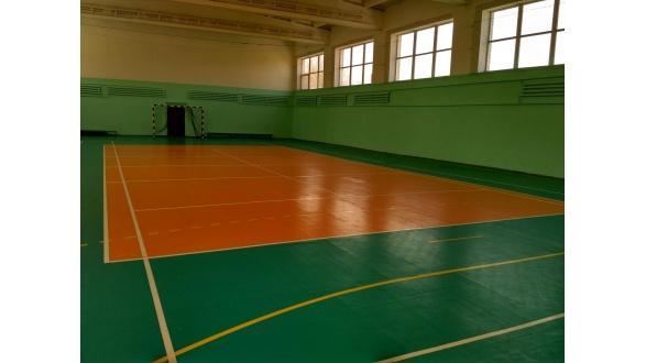 Спортивный зал с ПВХ покрытием