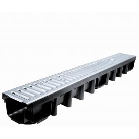 Система водовідведення Masterplast D-Drain TOP лінійна 1000х130х98 мм