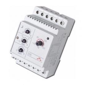 Терморегулятор электронный на шину DIN DEVI DEVIreg 316 0,25 Вт