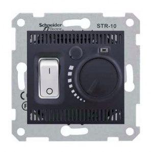 Термостат Schneider Electric Sedna SDN6000370 графит