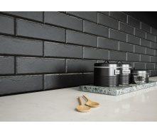 Фасадная клинкерная плитка Cerrad Foggia Nero 6,5x24,5 см