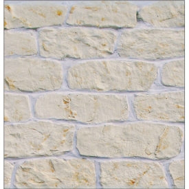 Облицювальний камінь Палермо 20х130х400 мм ваніль