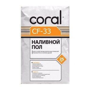 Наливна підлога Coral CF-33 25 кг