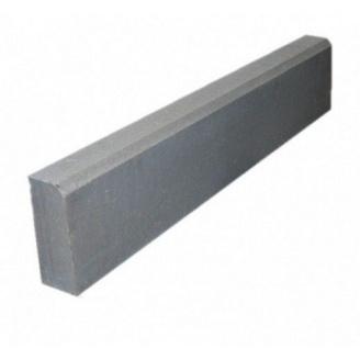 Бордюр тротуарный вибролитой БР 50х21х4,5 мм серый
