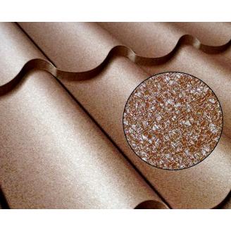 Металочерепиця Монтерей покриття Полістер (Італія, Корея)
