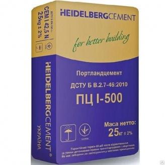Портландцемент ПЦ-500 Heidelberg