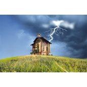 Встановлення блискавкозахисту в будинку