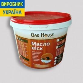 Масло-воск Oak House 10 л белый
