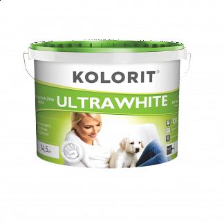Фарба Колорит UltraWhite 10 л