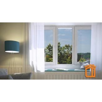 Металлопластиковое окно REHAU BRILLANT DESIGN 1300х1400 мм