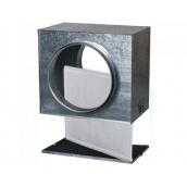 Касетний повітряний фільтр Vents ФБ 125 оцинкована сталь 209х220х235 мм